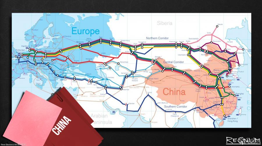 США и Шелковый путь: Пекин и Москва успешно держат оборону