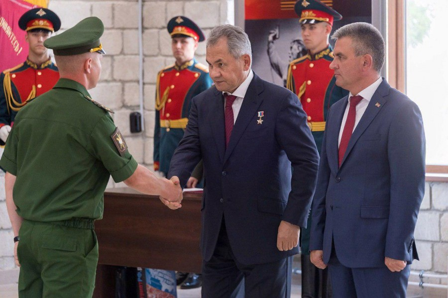 Шойгу: Россия не уйдёт из Приднестровья