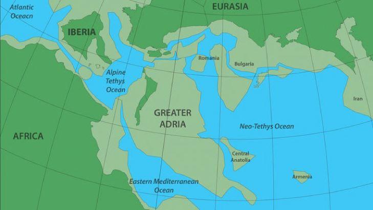 Геологи воссоздали историю похороненного под Европой континента