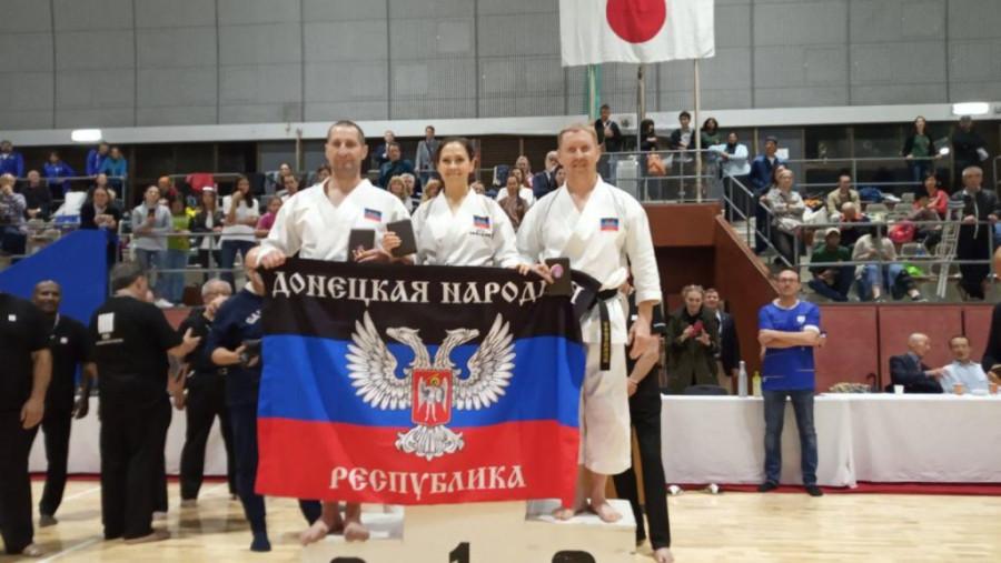 Сборная ДНР по каратэ завоевала 13 медалей на Кубке мира в Японии