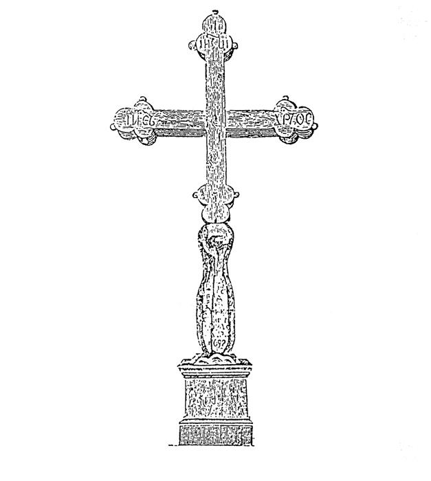 Петровский крест в Архангельске
