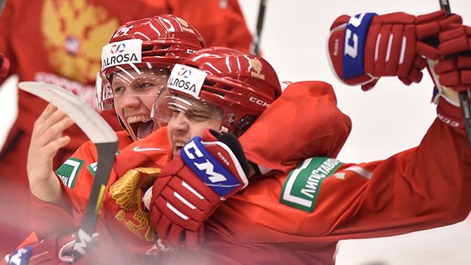 Россия победила Швецию и вышла в финал МЧМ по хоккею