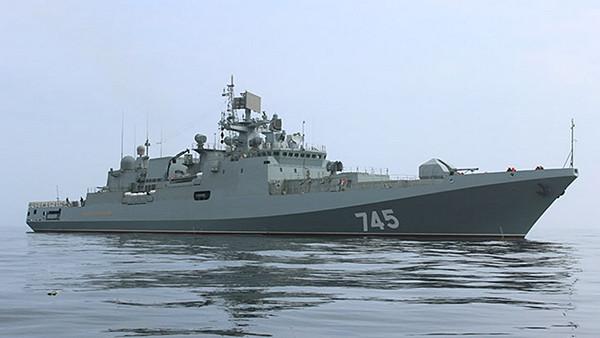 Российские фрегаты с «Калибрами» направились в Средиземное море