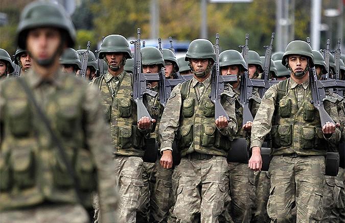 Анкара готовит масштабное вторжение в Сирию
