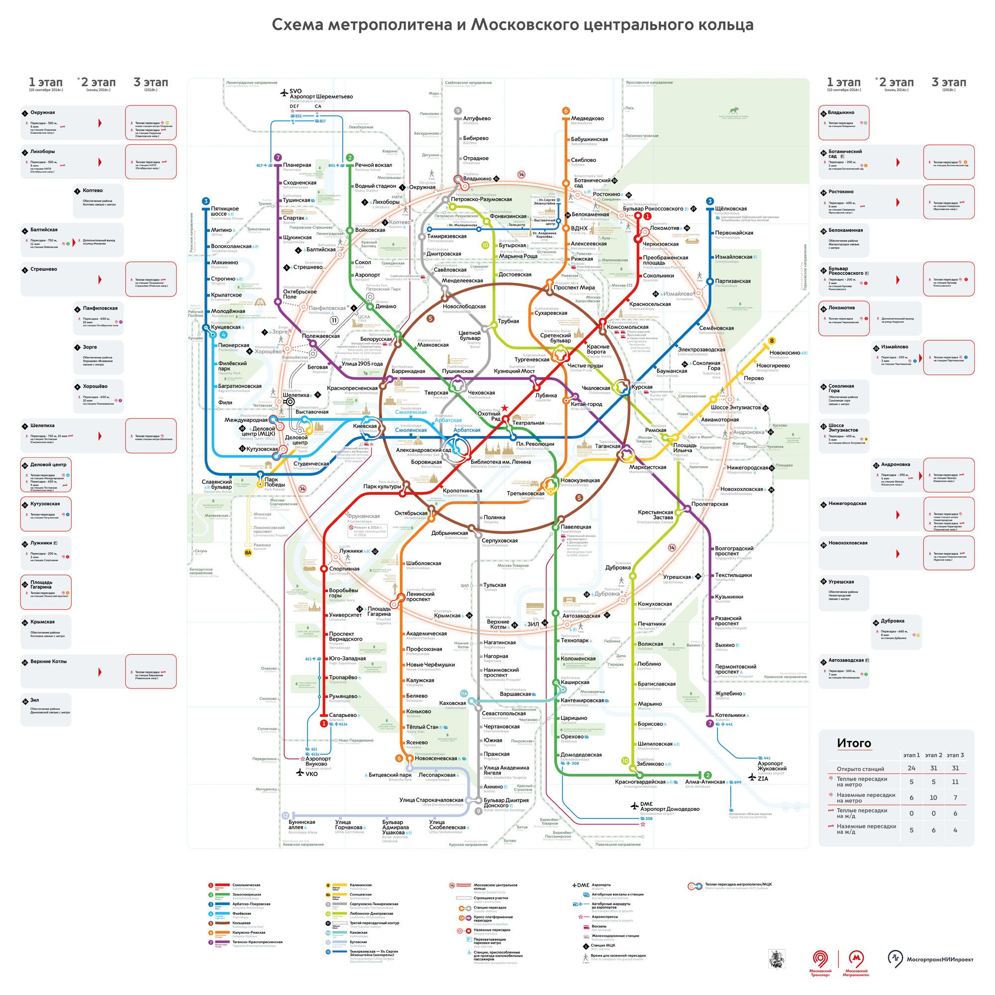 Схема проезда расчетом времени