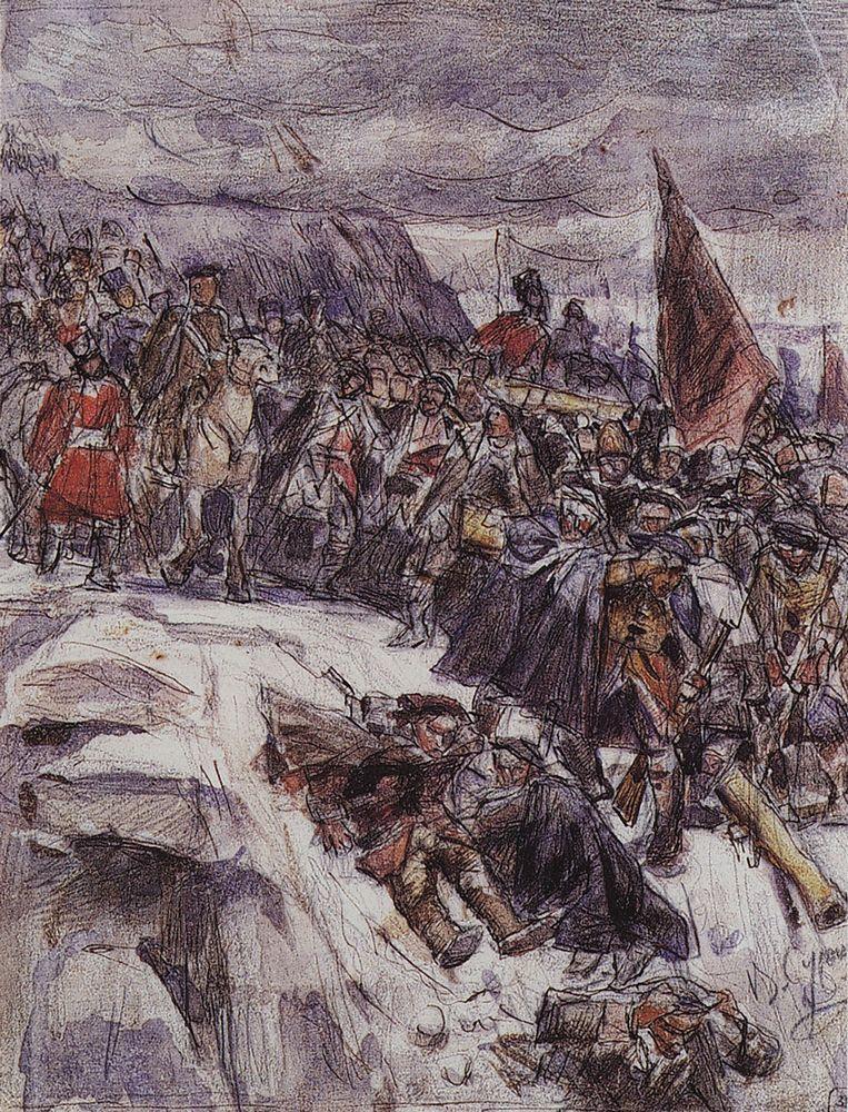 1 Переход Суворова через Альпы. 1898