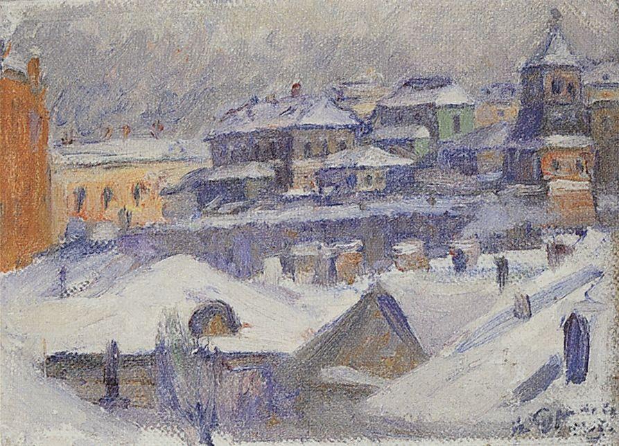Вид Москвы. 1908