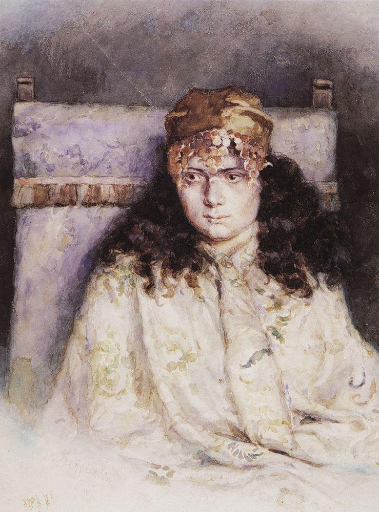 Женский портрет. 1885