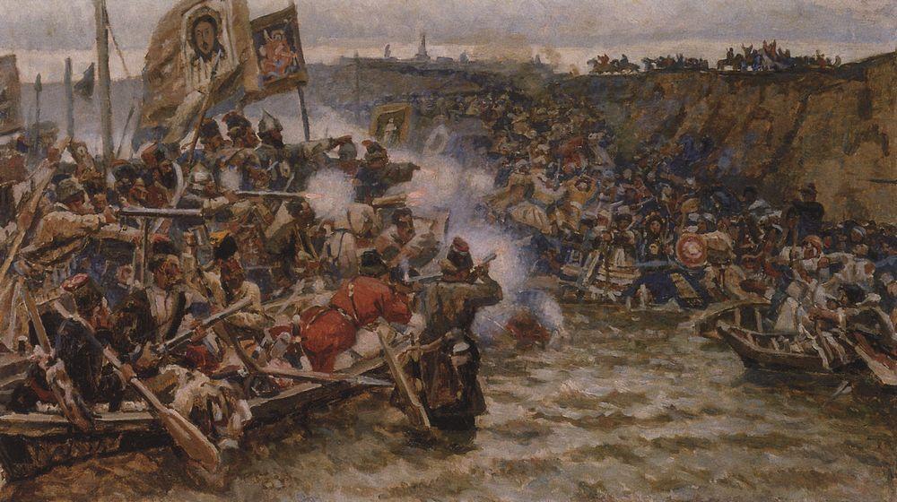 Покорение Сибири Ермаком1. 1895