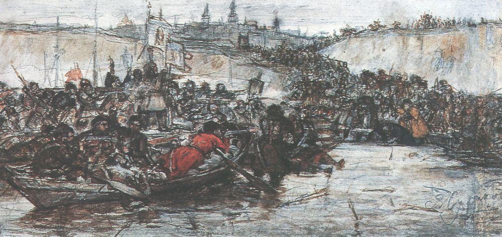 Покорение Сибири Ермаком1. Около 1891