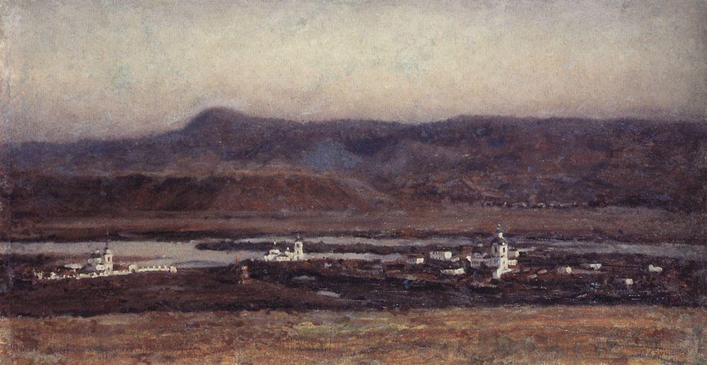 Старый Красноярск. 1914