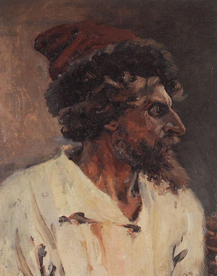 Стрелец в шапке. 1879