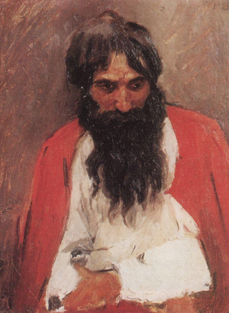 Чернобородый стрелец. 1879