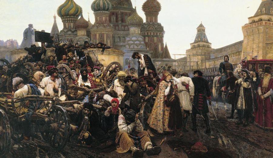 0 Утро стрелецкой казни. 1881