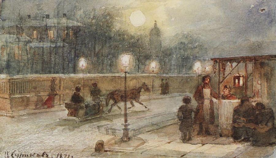 Вечер в Петербурге. 1871