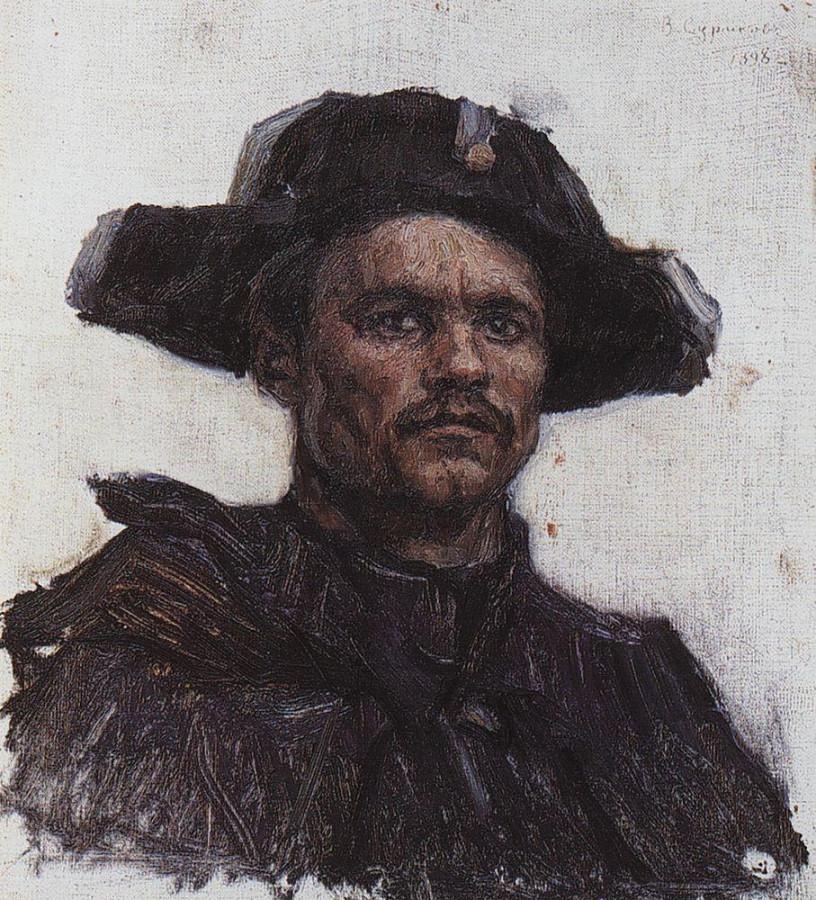Голова солдата-барабанщика. 1898