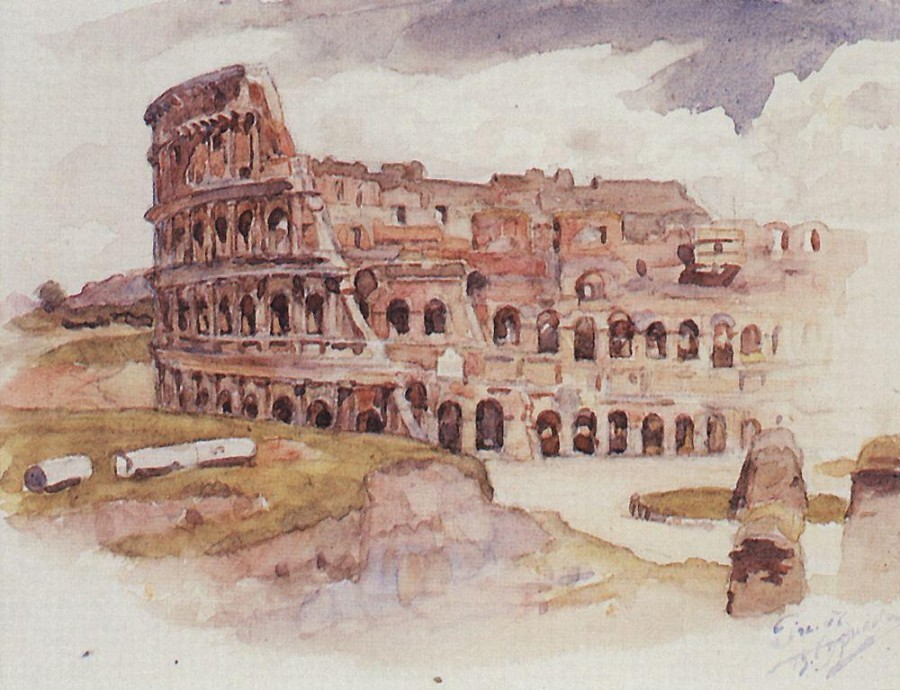 Колизей. 1900