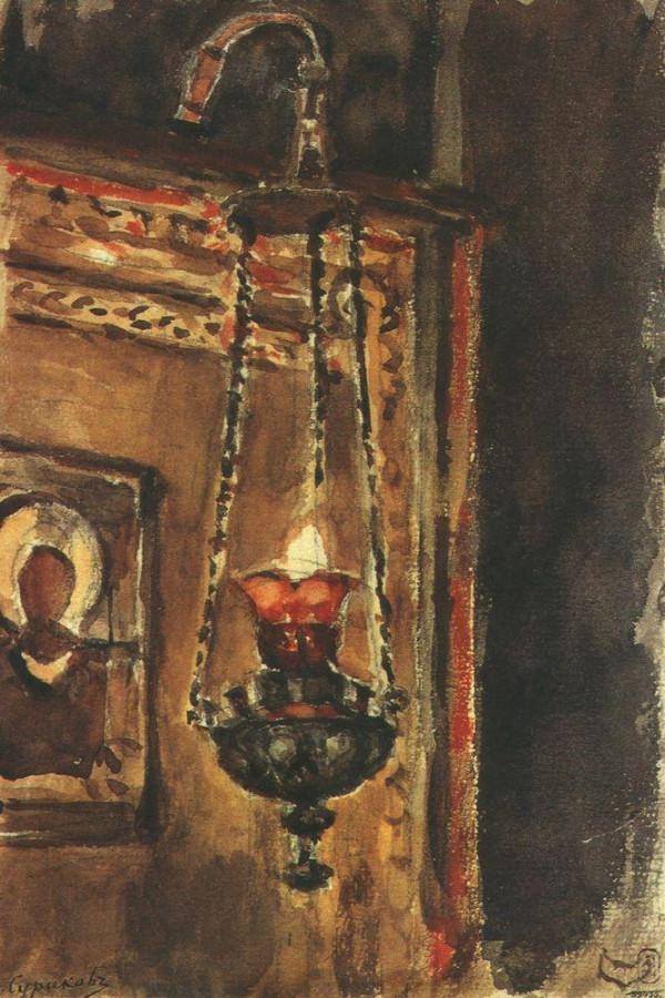 Лампада. 1881-1882