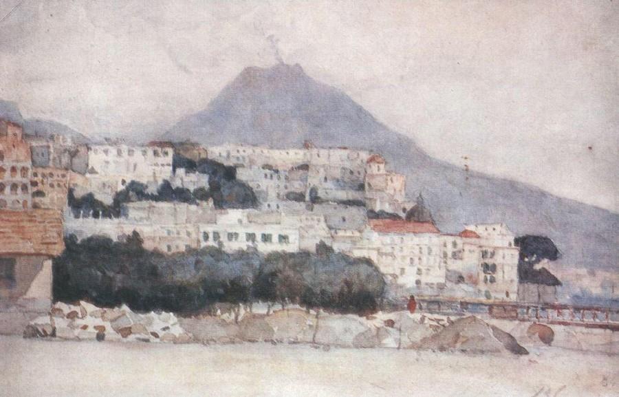 Неаполь. Везувий. 1884