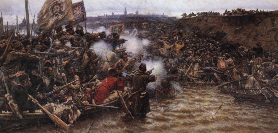 Покорение Сибири Ермаком2. 1895