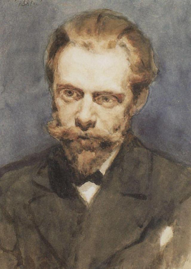Портрет Н.С.Матвеева. 1881
