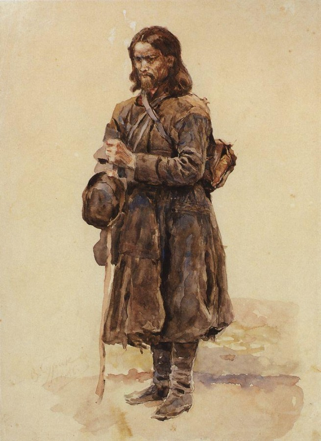 Странник. 1886