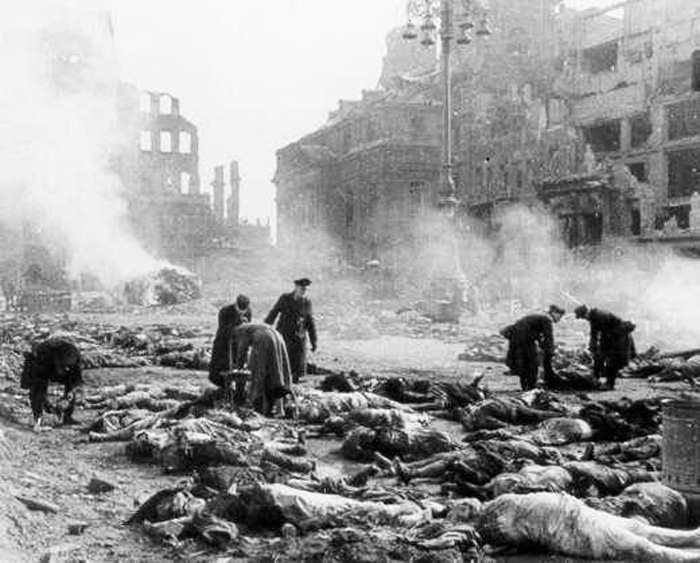 Выжженный Дрезден -1945