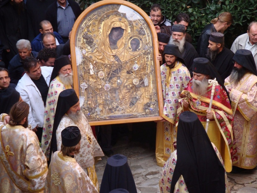 Чудо в Дохиарском монастыре