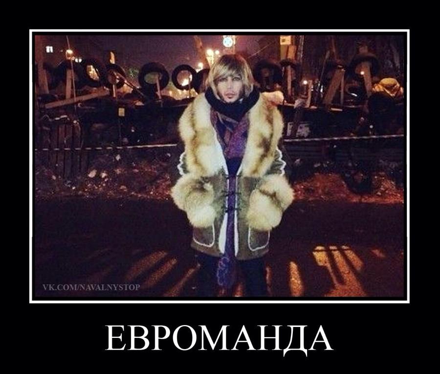 Евромайдан в демотиваторах