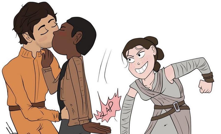 Фанаты «Звездных войн», вам нужны гей-отношения между героями?