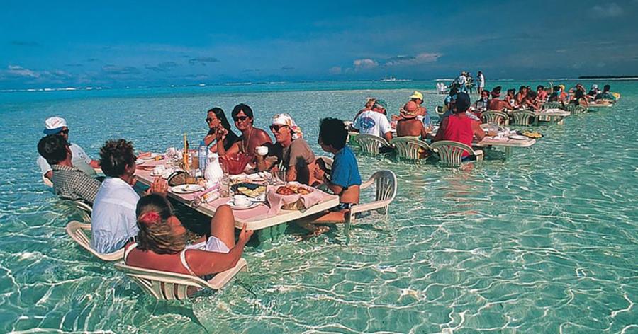 Удивительные рестораны мира