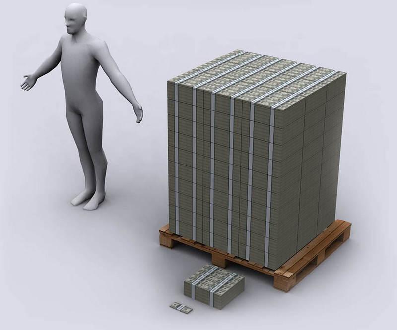 1 миллиард рублей сколько в объеме Вакансии Работа