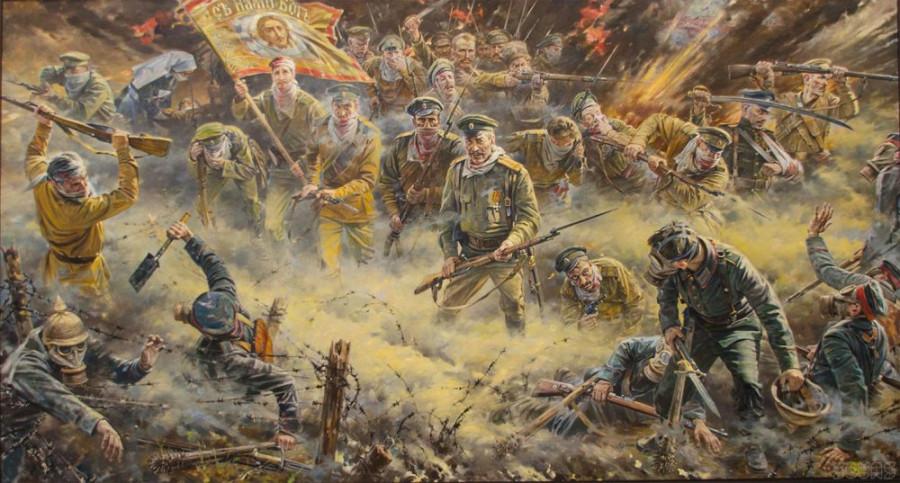 Происхождение фразы «Русские не сдаются!»