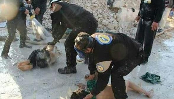 СМИ: «Белые каски» убивали детей ради реалистичных кадров
