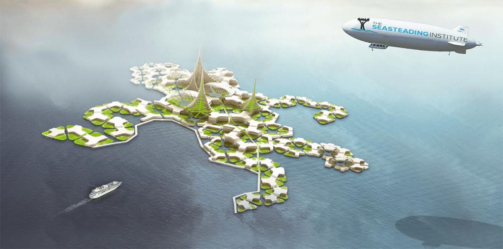 Плавучие острова для миллиардеров начнут строить в 2019 году