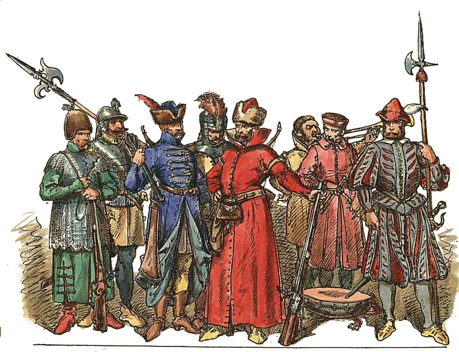 Polish_Infantry_1548-1572