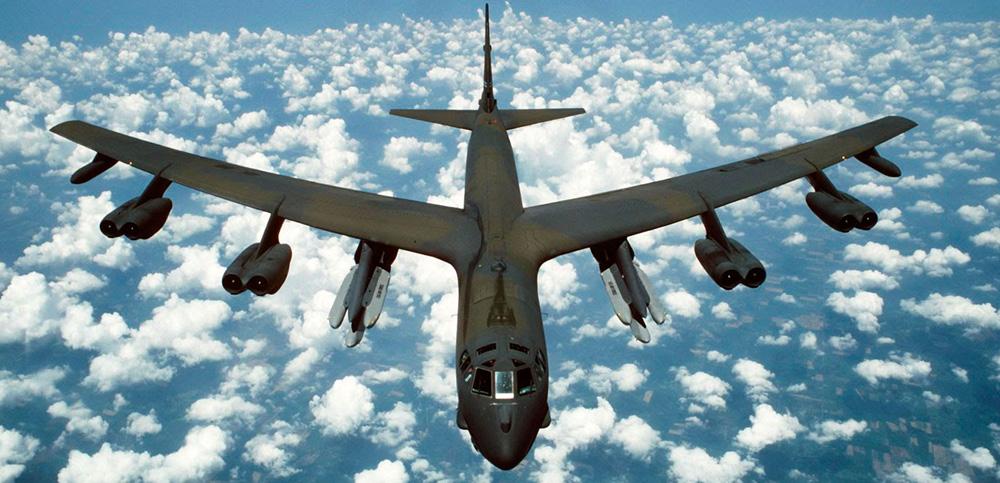 Птичка уничтожила бомбардировщик США