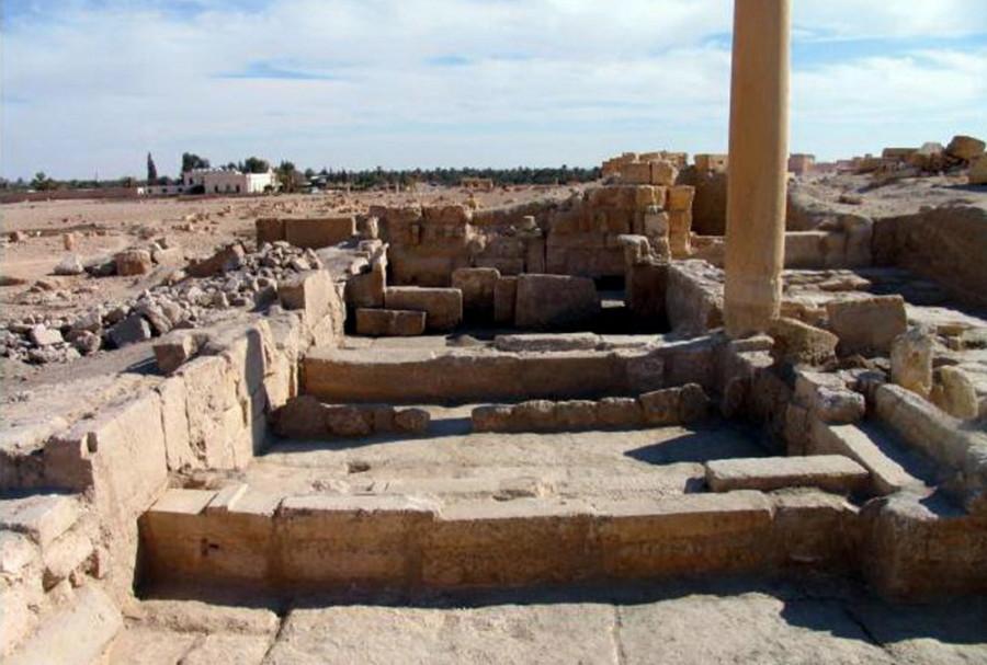 Древний  город  Пальмира