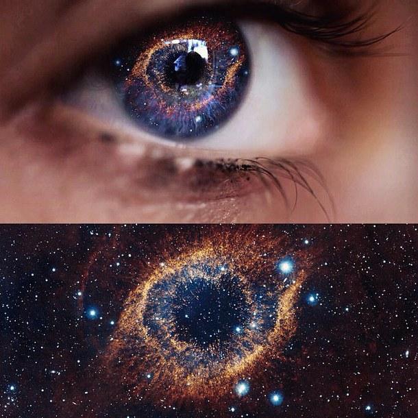 Вселенная смотрит на себя глазами людей