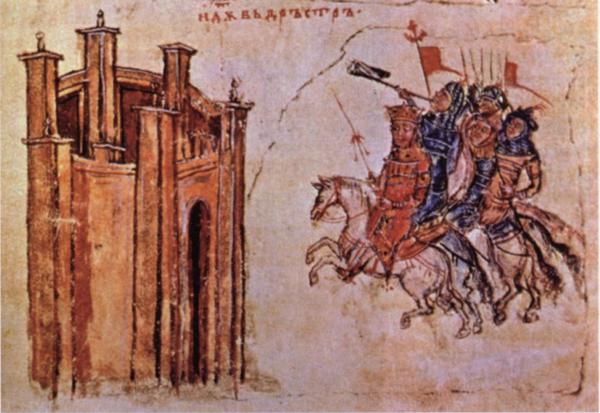 01-в-хронике-Манассии-Святослав-идет-на-Доростол