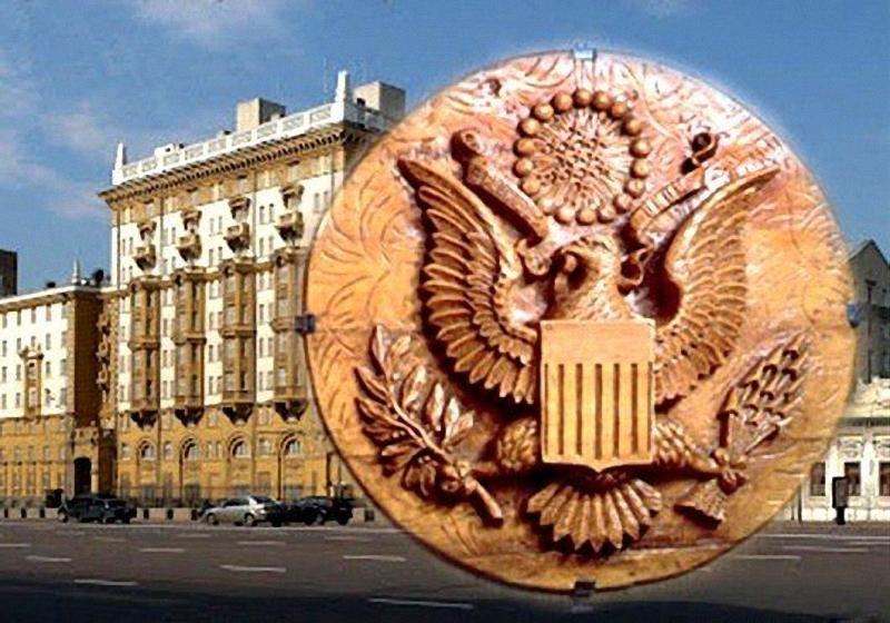 """Шедевры русского шпионажа """"Златоуст"""" в американском посольстве."""