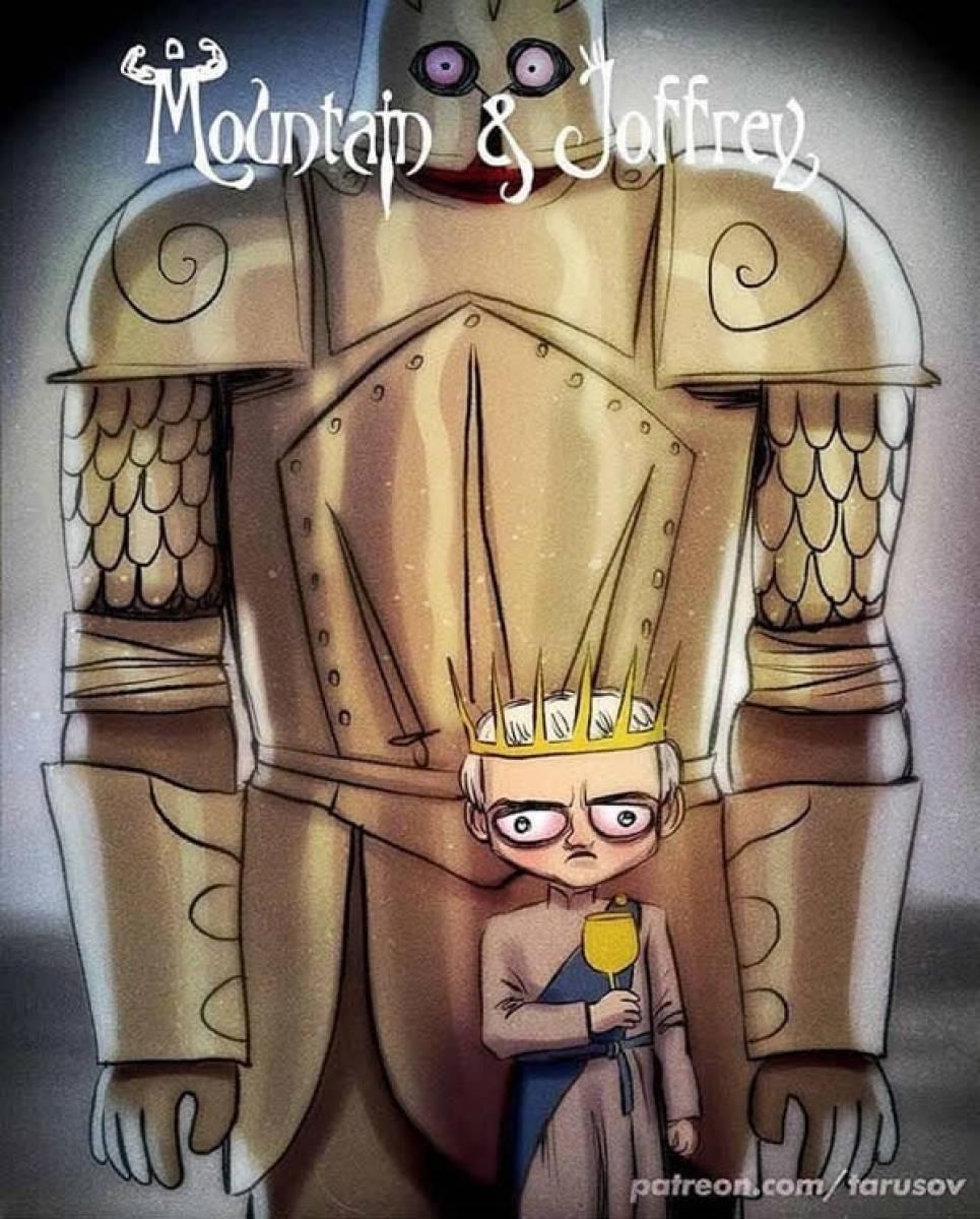 «Игра престолов» в стиле Тима Бертона