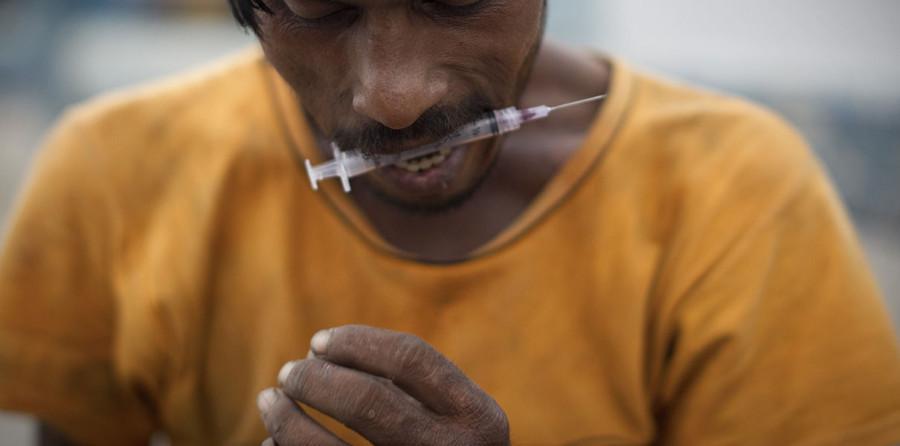 Разработана вакцина, дающая иммунитет к героину