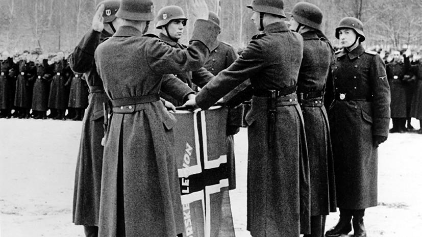 Сексуальные похождения фашистких офицеров в концлагерях