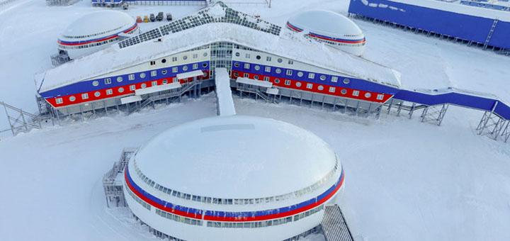 Российские арктические базы сравнили с орбитальной станцией