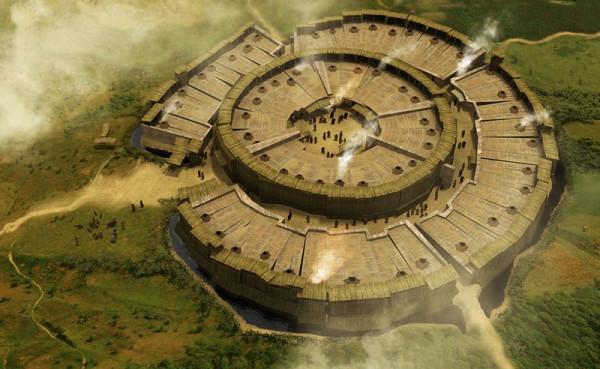 Аркаим — город-загадка в Уральской степи
