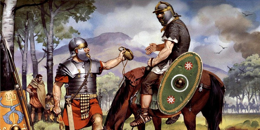 Пить, как легионеры: чем радовали себя солдаты древнего Рима