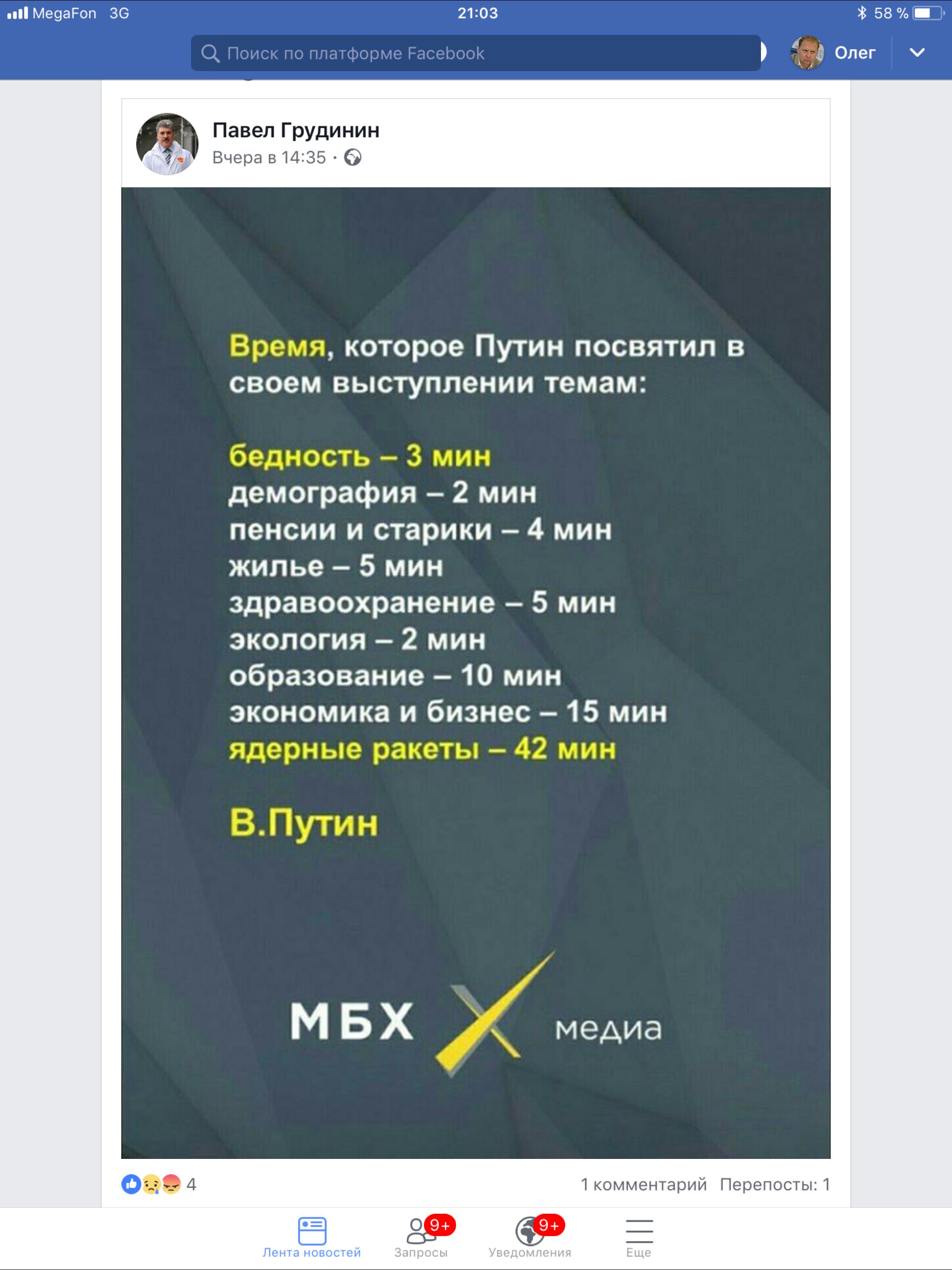 Сообщение от МБХ медиа ( Михаил Б Ходорковский медиа )