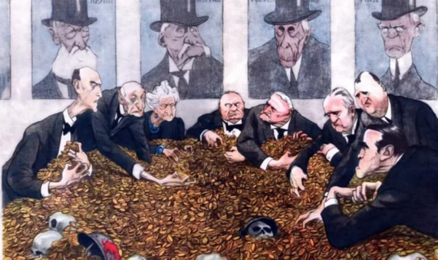 Всего четыре страны на Земле не захвачены центральными банками Ротшильдов