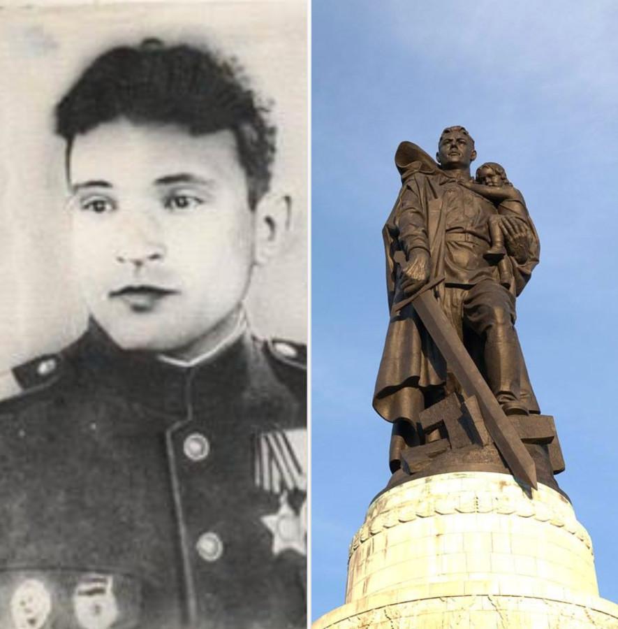 Подвиг советского солдата